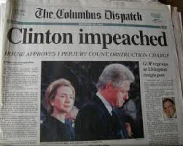 Bill Clinton;s Impeachement