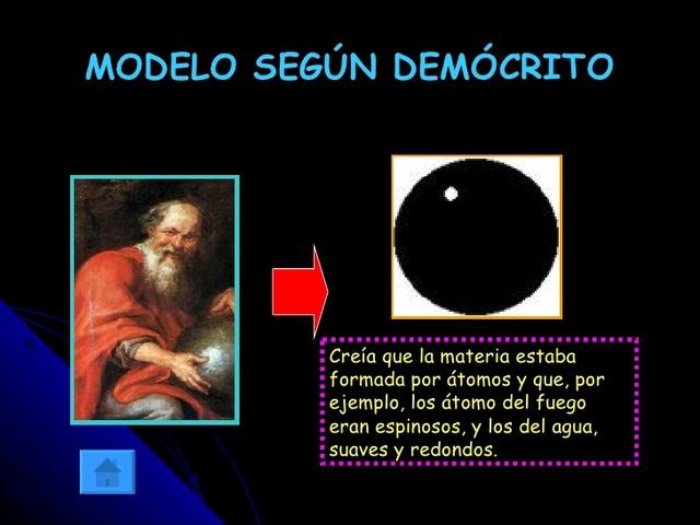 Resultado de imagen de Demócrito y el átomo