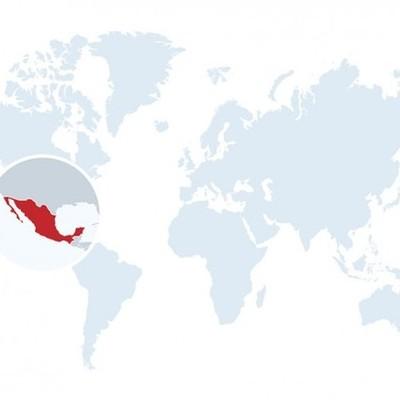Linea Comparativa México y el mundo (1521-1910) timeline