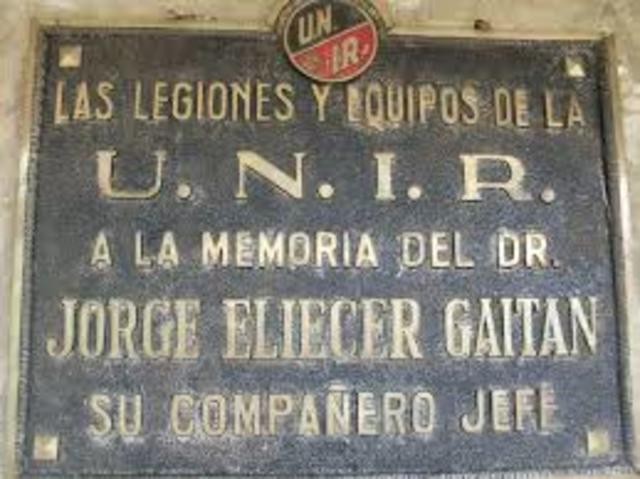 UNIR (Unión Nacional De izquierda Revolucionaria)