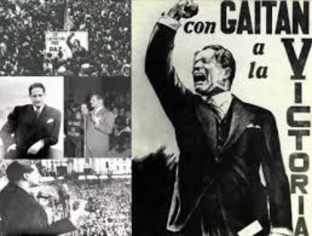 Lanzamiento de su candidatura a la presidencia de la  República de Colombia