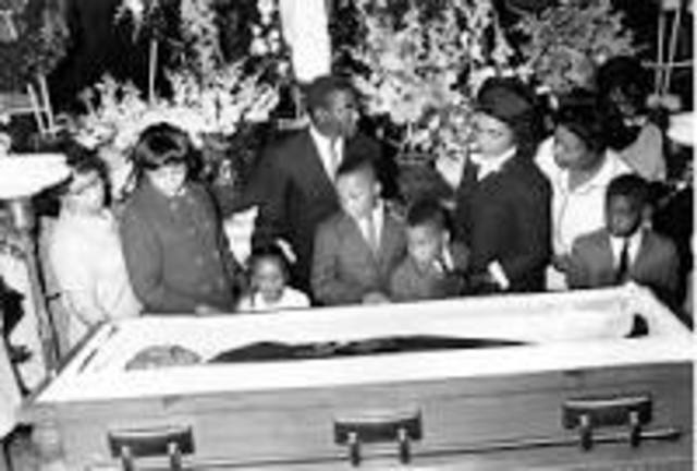 Martin Luther King Jr. Assassinated