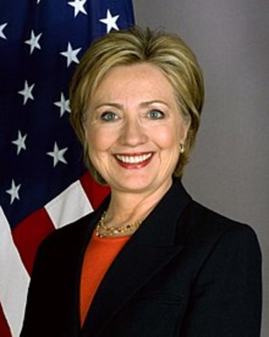 Hilary Clinton Appointed U.S Secretary of  State