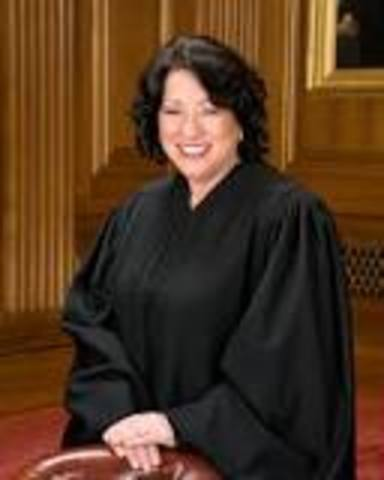 Sonia Sotomayor Appointed to U.S Supreme Court