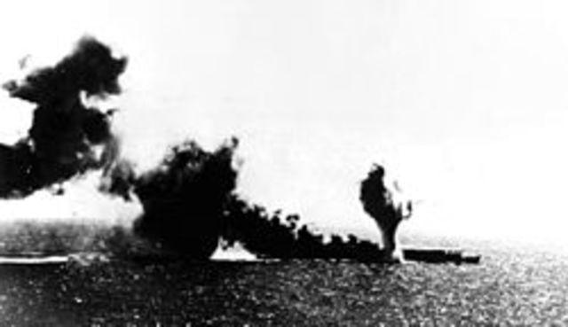 Pocetak bitke u Koralnom moru