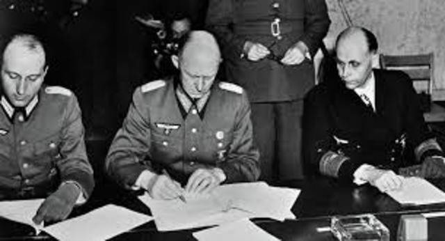 Kapitulacija Nemacke - Kraj rata u Evropi