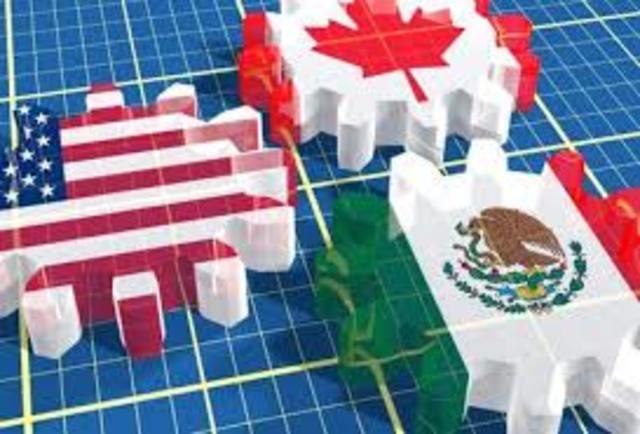 Ambito Económico. Firma del Tratado de Libre Comercio America del Norte