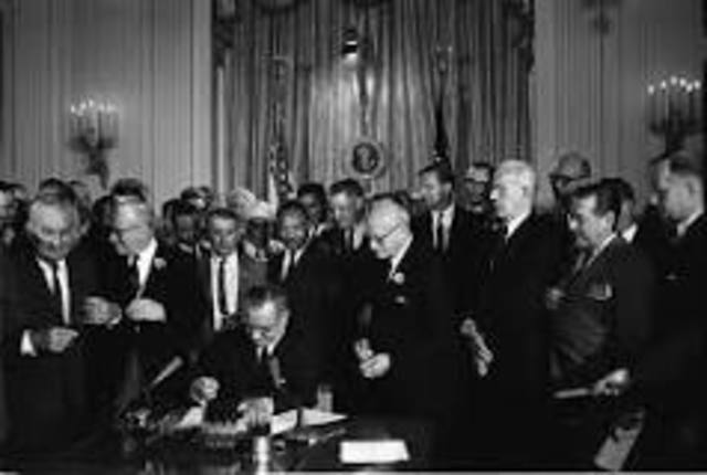 •	Civil Rights Act of 1964