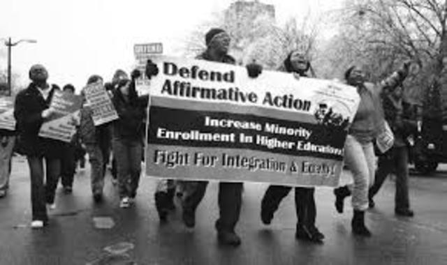 •	Affirmative Action (1961)