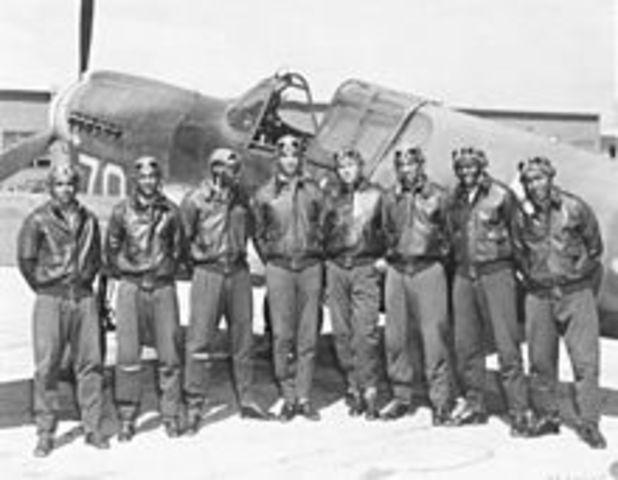 •Tuskegee Airmen