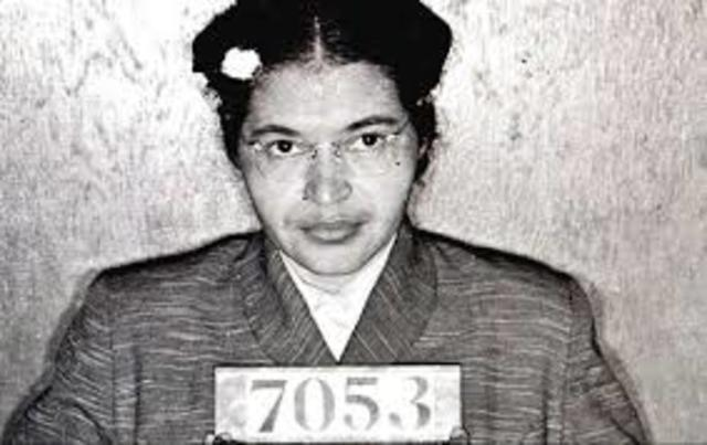 •Rosa Parks Arrested (1955)