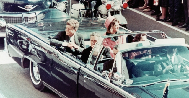 •Kennedy Assassinated in Dallas, Texas