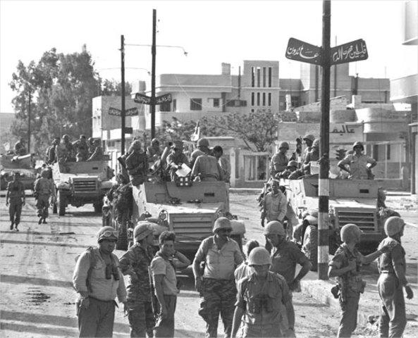 •Six Day War (1967)