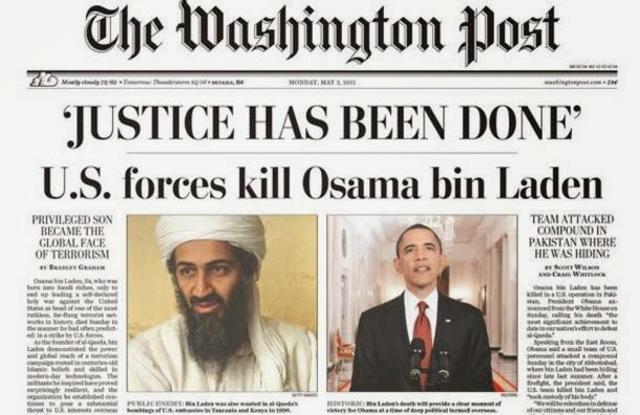 •Osama Bin Laden Killed (2011)