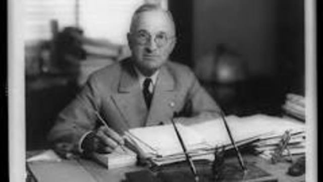 •	Truman Doctrine