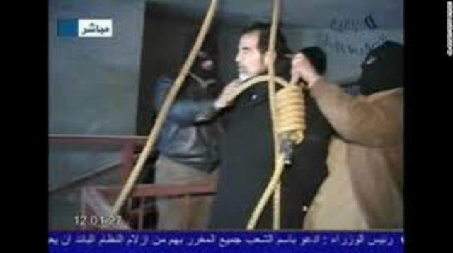 saddam hussein executed