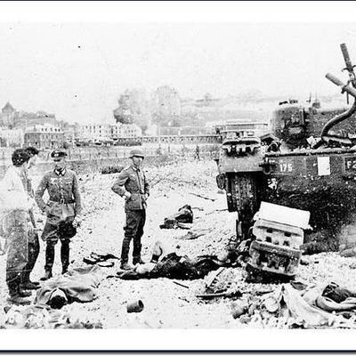 Dieppe Raid of 1942. timeline