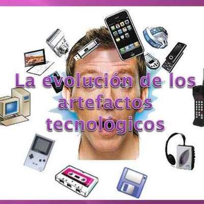 EVOLUCION DE LOS ARTEFACTOS TECNOLOGICOS timeline