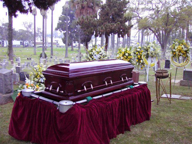 La muerte de su marido