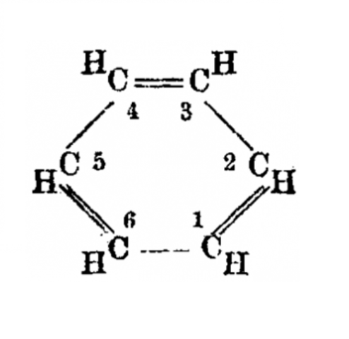 Primera estructura química del benceno