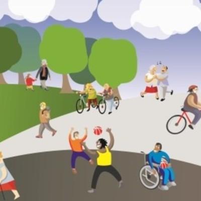Actividad física y salud timeline