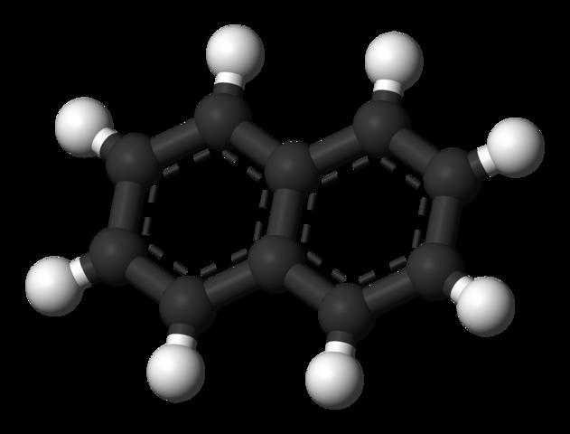 Confirmación de la estructura de la naftalina