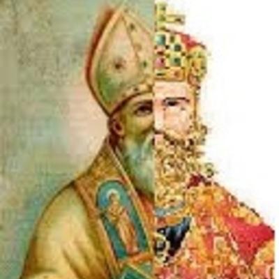 De San Agustín al Imperio Carolingio Ma. Teresa Olvera G timeline