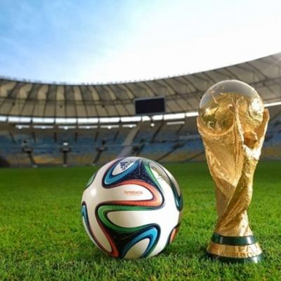 Mundiales de futbol timeline