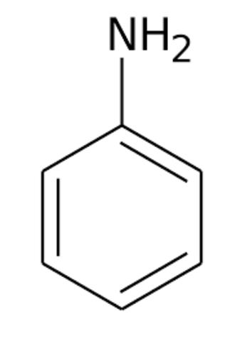 Reducción del nitrobenceno a anilina.