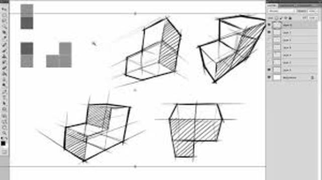 Dibujo de Perspectiva (Filipo Brunelleschi)
