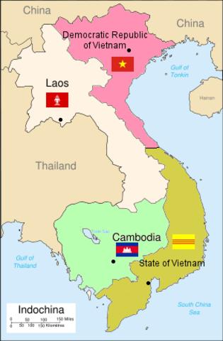 Events Of The Vietnam War Timeline Timetoast Timelines