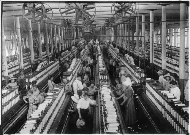 Samuel Slater &  Moses Brown (Segunda Revolución Industrial)