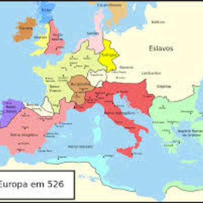 Historia da Europa ocidental timeline