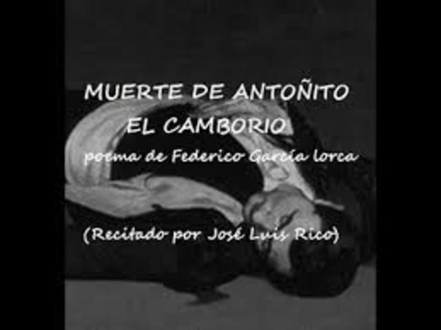 Muerte de Antonito el Camborio
