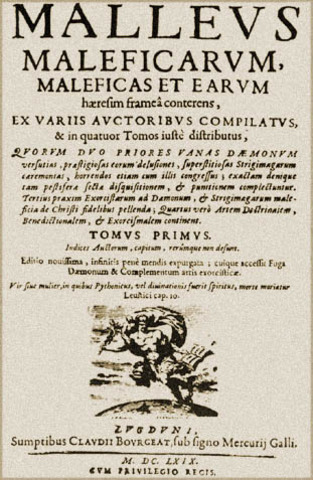 The Malleus Malificarum