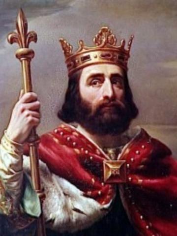 Comienzo del reinado de Pipino el Breve