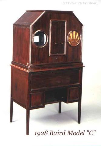 Baird's first TV