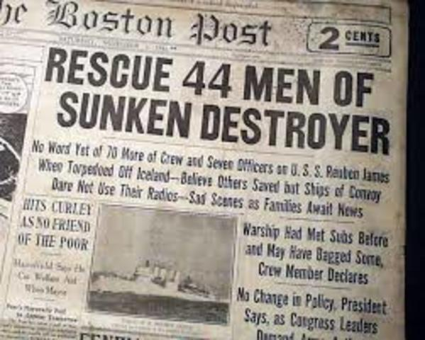 Reuben James Sank