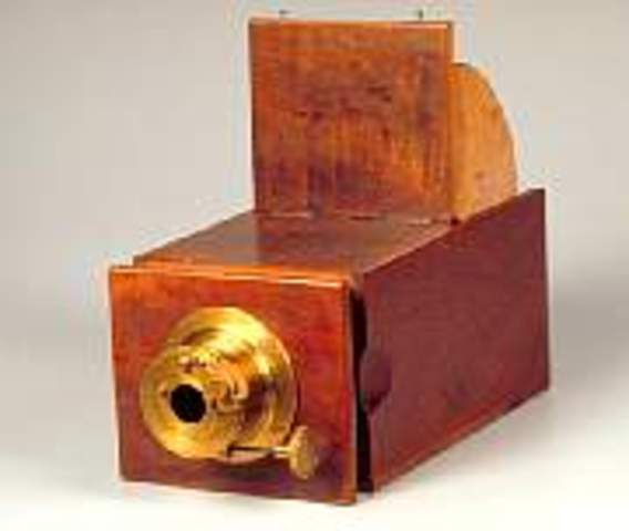 The first camera invented