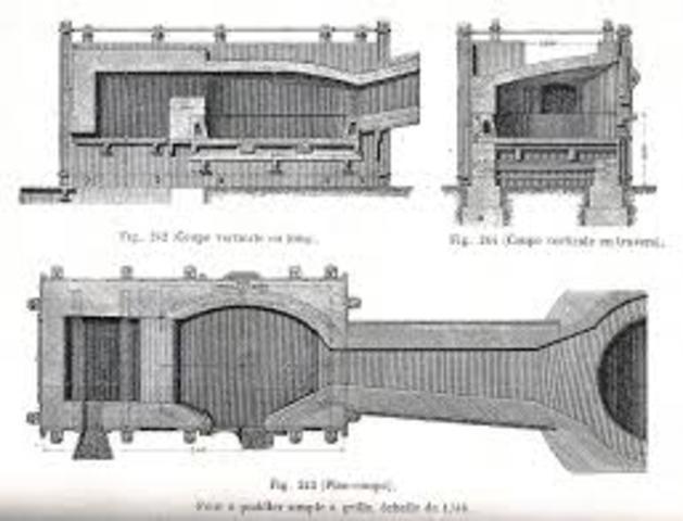 Método de pudelado por Henry Cort.
