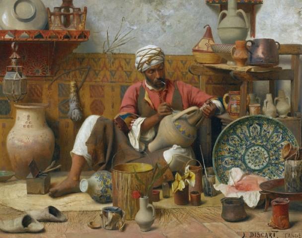 primeros trabajos de ceramica  en el año 10.000 ac
