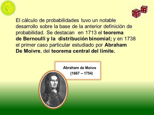 Teorema de Bernoulli y la distribución binomial