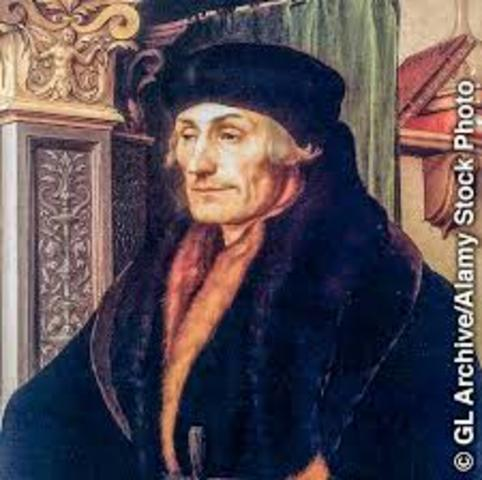 Erasmo de Roterdam (1466 u 1469 – 1536 d.c)