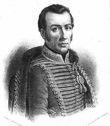 José Miguel Carrera (1785 – 1821 d.c)