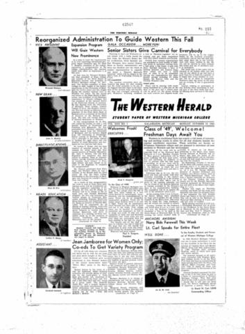 Western Michigan Herald Becomes Western Herald