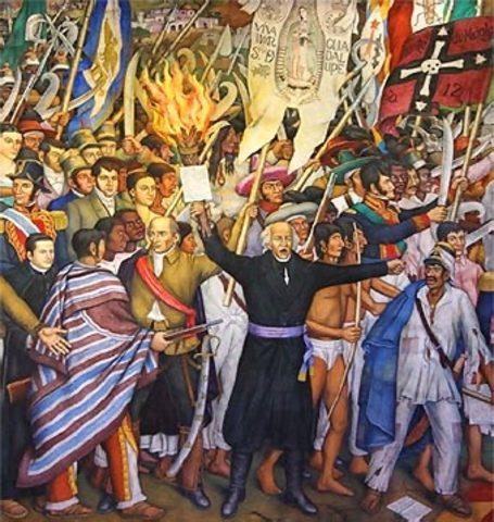 Inicio del periodo de la Independencia