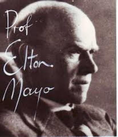 Principales exponentes en la teoria de las relaciones humanas: Elton Mayo, Kurt Lewin, Mary Parker Follet