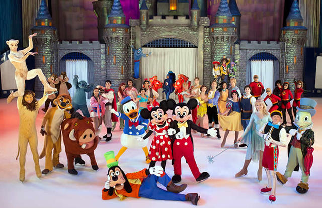 Fui a ver Disney On Ice