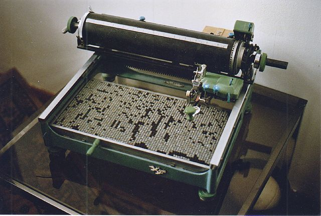 Maquina de escribir China