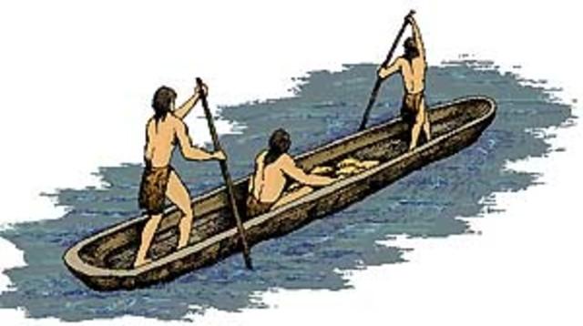 Canoas primitivas.